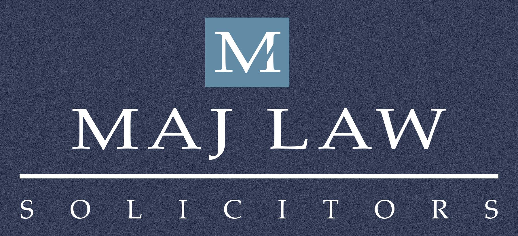 MAJ LAW Letterhead Logo